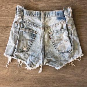 EB Denim Cutoff Shorts